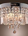 Takmonterad Fluorescerande - Kristall, Ministil, 110-120V / 220-240V Glödlampa inte inkluderad / 40-50㎡ / E12 / E14