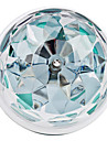 270lm E26 / E27 Bulb LED Glob 3 LED-uri de margele LED Putere Mare Activare-Sunet RGB 85-265V / # / #