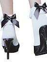 Șosete/ciorapi Lolita dulce Prințesă Negru și Alb Lolita Accesorii Șosete Nod Papion Pentru Nylon