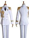 Inspirerad av Uta ingen Prince Sama Ai Mikaze Video Spel Cosplay-kostymer cosplay Suits Enfärgat Vit Lång ärmKappa Skjorta Byxor Hatt