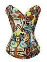 spandex cu închidere Busk față jacquard corsete ocazie speciala (mai multe culori) sexy lenjerie formator