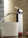 Moderne Vasque Jet pluie Soupape ceramique 1 trou Mitigeur un trou Chrome, Robinet lavabo