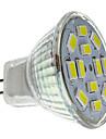 2 W 250-300 lm GU4(MR11) Spoturi LED MR11 12 LED-uri de margele SMD 5730 Alb Natural 12 V