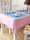100% Coton Carre Nappes de table Couleur Pleine Economique Decorations de table