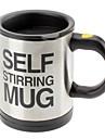 Cupă automată de amestecare cafea / cana drinkware din oțel inoxidabil cupa de cafea auto-agitator butuc electric