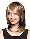 Naisten Synteettiset peruukit Suora musta Wig Rooliasu peruukki