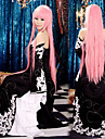 Inspire par Vocaloid Megurine Luka Video Jeu Costumes de Cosplay Costumes Cosplay / Robes Mosaique Sans Manches Robe Manche Les costumes / Satin