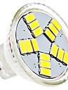 1.5W 6000 lm GU4(MR11) LED-spotlights MR11 15 lysdioder SMD 5630 Naturlig vit AC 12V