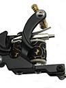 Tattoo Machine Professionell Tattoo Kit - 4 pcs Tatueringsmaskiner, Professionell LCD strömförsörjning Fodral inkluderat 4 x gjutjärn tatuering maskin för linjer och skuggning