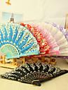 """Bumbac Ventilatoare și umbrele de soare-# Piece / Set Ventilatoare de Mână Temă Asiatică Temă Florală 16 1/2""""x9""""x 3/4""""(42cmx23cmx1cm)"""