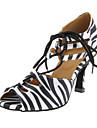 Femei personalizate lui Satin Pantofi de dans superior cu catarama
