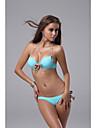 Lumina albastră Sexy Cute Bow Capastru Bikini