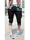 Bărbați Cute Stil Pantaloni Scurți Pantaloni Sport Pantaloni Pantaloni Leopard Scrisă