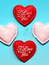 nozze cuore decorativo / accessori fai da te - set di 50 (piu colori)