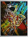 Pictat manual Abstract Vertical Un Panou Canava Hang-pictate pictură în ulei For Pagina de decorare