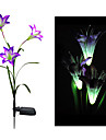 Färgskiftande Solar Lily Flower Stake Light (CIS-58263A)