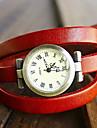 Pentru femei Ceas La Modă Ceas Brățară Quartz PU Bandă Boem Negru Albastru Roșu Orange Maro Verde