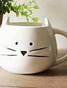 Tecknad katten rånar, Ceramic 13.5oz, Multi-color