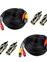 Cables 2Pcs 150ft for Security Camera with BNC RCA pour la securite Systemes 5000cm 3.5kg