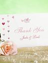 """Card Plat Invitatii de nunta-Felicitări de mulțumire Stil Clasic Hârtie perlă 3 ½"""" x 5""""(9cm*12.5cm)"""