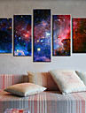 Intinsa Canvas Print Art Abstract Galaxy Set de 5