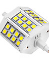 R7S Spot LED 24 diodes électroluminescentes SMD 5050 Blanc Froid 440lm 6000-6500K AC 85-265V