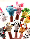 Păpușă Deget Animal Animal Pentru povestirile din timpul nopții Băieți Fete 10