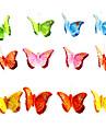 Farfalle di plastica Materiale misto Decorazioni di nozze Ricevimento di matrimonio Farfalle / Classico Primavera / Estate / Per tutte le stagioni