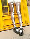 Șosete / ciorapi Lolita Stil Gotic lolita lolita Pentru femei Negru/Alb Lolita Accesorii Imprimeu Șosete Poliester