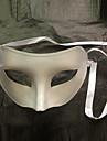 clipeală Flattop PVC alb partid masca de jumătate față