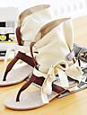Imitație de piele pentru femei toc plat Confort Sandale Pantofi (Mai multe culori)