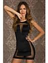 Femei Mini Bodycon rochie cu plasă Accent