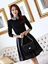 Coreea JFS sytle femei Elegant Slim Fit Dress