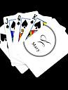 Personalizat cadou alb Semnătura stil de joc Card