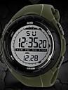 SKMEI Herrn Sportuhr / Armbanduhr / Digitaluhr Alarm / Kalender / Chronograph Caucho Band Modisch Schwarz / Blau / Grau / Wasserdicht / LCD / Zwei jahr / Maxell626 + 2025