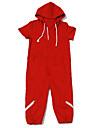 Inspirerad av One Piece Monkey D. Luffy Animé Cosplay-kostymer cosplay Suits Enfärgad Tryck Kortärmad Leotard Till Man