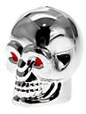 5-pack Silver Skull Shaped Tire Ventiler