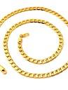 Coliere Lănțișoare Bijuterii Nuntă / Petrecere / Zilnic / Casual La modă Placat Auriu Argint 1 buc Cadou