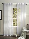 land en panel fast vitt sovrum polyester skira gardiner nyanser