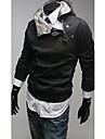 Homme Chic & Moderne Pull a capuche & Sweatshirt Couleur Pleine