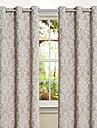 land en panel blommig botanisk sovrum polyester panelgardiner draperier