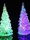 Coway Crystal Christmas Tree Light colorat de noapte LED mic copac lampă