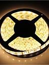ZDM ™ 5m impermeabil 72W 300 * 5050 smd 4800lm lumina alb cald a condus lampă benzi (DC12V)