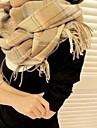 moda coreeană carouri lung eșarfe cașmir șal unisex lui