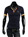 KALO maneca scurta Deer model Polo Shirt (Navy Albastru)
