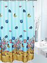 Duschdraperi Moderna Polyester Nyhet Maskingjord