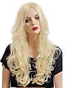 Syntetiska peruker Klassisk Hög kvalitet Densitet Dam Syntetiskt hår