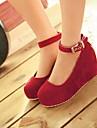 Piele de căprioară pentru femei Wedge toci toc Pompe / toci pantofi (Mai multe culori)