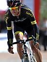 SANTIC Maillot et Cuissard de Cyclisme Homme Manches Courtes Velo Maillot Shorts Rembourres Collant a Bretelles/Corsaire Bretelles