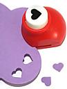 pumn instrument de tăiere DIY mini metalice model de inima (culoare aleatorii)